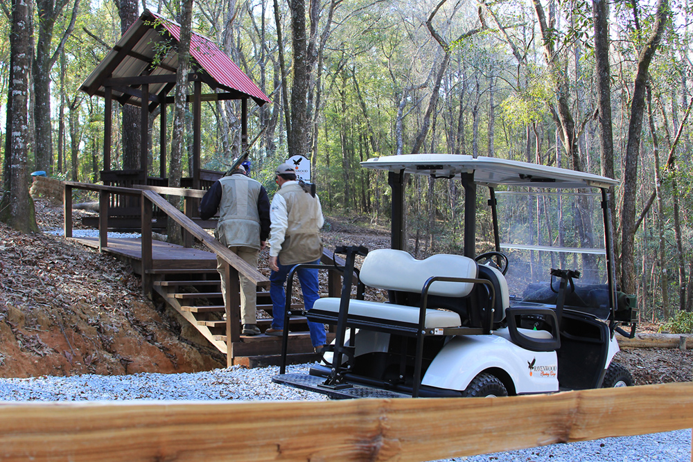Ravenwood Sporting Clays   What is Sporting Clays? on shotgun gun carts, used sporting clays carts, stroller shooting carts,